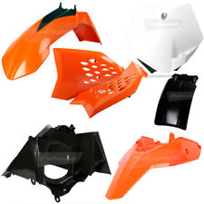 Polisport MX Plastics Kit - KTM SX65 12-15 - OEM (13) w/Orange Rear Fender
