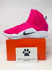 Nike Hyperdunk X TB Promo Pink Cancer Awareness AT3866-609 Size 10.5-11.5