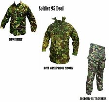 Soldier 95 Deal - CADET UNIFORM - DPM Green Camo - Shirt, Trousers, Smock - ARMY