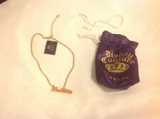 Disney Couture Believe Tinkerbell Necklace New With Tags
