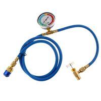 A / C R134A Tuyau de Recharge de RéFrigéRant Basse Pression Gauge Faci le O C9G6