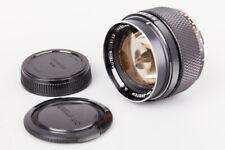 Olympus OM System G.Zuiko Auto S 55mm f/1.2 f1.2 Manual Focus Lens For OM Mount