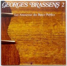 GEORGES BRASSENS: Les Amoureux des Bancs Publics [CD] French Chansons with Bonus