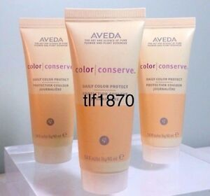 Lof of 3 Travel Size Aveda Color Conserve Daily Color Protect