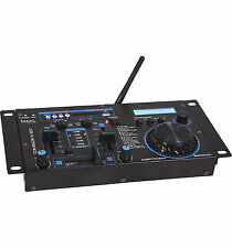 Ibiza Sound Djm160fx-bt DJ Mixer Built in Effects Disco USB Scratch