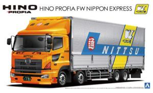 Hino Profia FW Nippon Express - 1:32 Heavy Freight No10 by Aoshima