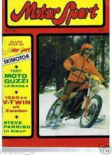 MS7902-PARRISH POSTER, HEDLUND 1000,MOTO GUZZI LE MANS,