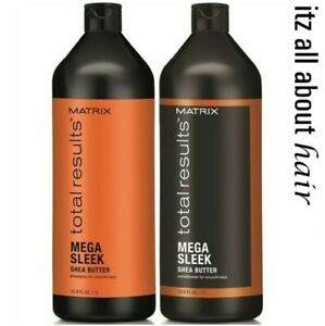 Matrix Total Results Mega Sleek Shampoo and Conditioner 1 Litre Duo Pack
