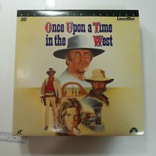 LaserDisc Once Upon A Time In The West laser videodisc wide screen edition