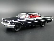 1963 63 FORD GALAXIE 500 RARE 1/64 SCALE COLLECTIBLE DIORAMA DIECAST MODEL CAR