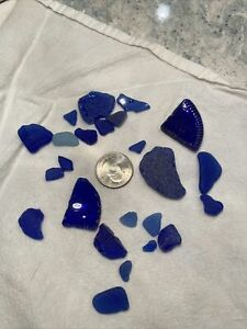 Blue Lake Michigan Sea Beach Glass