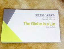 Flat Earth Business Cards FREE SHIPPING
