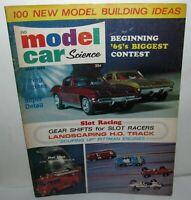 Model Car Science Magazine, May 1965, HO 1/32 1/24 Slot Cars