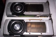 Lot of 2 PNY GeForce GTX 780 VCGGTX7803XPB  3GB Graphics Cards (FOR PARTS ONLY)