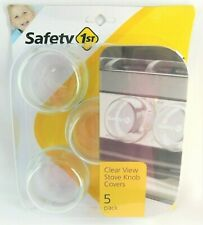 Nip Safety First Clear View Stove Knob Covers ~ 5 pack