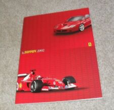 Ferrari Car Sales Brochures 2002