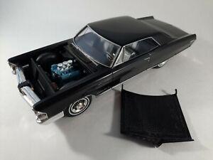 Vtg 1965 Pontiac Grand Prix Black Kit Plastic Car