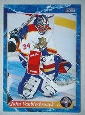 NHL 501 John Vandiesbrouck Florida Panthers Score 1993/94