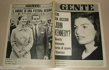 GENTE 1966/37=JACKIE KENNEDY=SAN MICHELE=OLIVIERO OSVALDO TESTA=DANIELA GIORDANO
