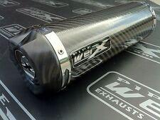 Honda CB 600 Hornet 2007 08 09 Carbon GP Carbon Outlet Race Exhaust Can R/Legal