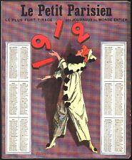 Calendrier Le Petit Parisien. 1912. Cirque, jongleur
