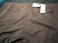 NWT - Mens LEVIS Brown Cotton CARGO Shorts (Size 40)