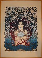 2009 Supernatural Cat Night - Firenze - Silkscreen Concert Poster S/N by Malleus
