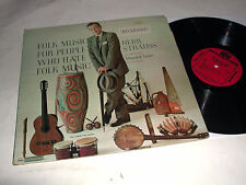 HERB STRAUSS Folk Music For People That Hate Folk Music RIVERSIDE LP NM/NM-!
