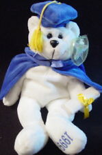 "Classic Collecticritters 1999 Dustin Graduation Bear Bean Mwmt! ""The Graduate"""