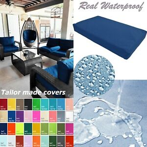 TAILOR MADE COVER*Patio Bench Cushion Waterproof Outdoor Swing Sofa Daybed Dw27