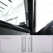 Jaguar XE XF XFL Matte Chrome Interior Air Outlet Cover Trim Sticker