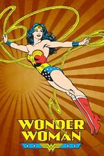 DC PRINT - WONDER WOMAN CLASSIC FLYING POSE