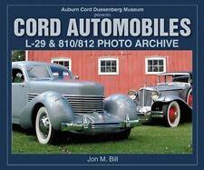 Book: Cord Automobiles L-29 810 812 Jon M Bills - EL Auburn Duesenberg Museum