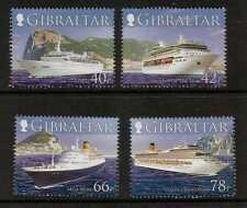 Gibraltar SG1180/3 2006 cruceros estampillada sin montar o nunca montada