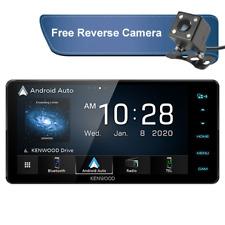 "Kenwood DMX820WS 7"" Touchscreen Digital Media Receiver - Black"