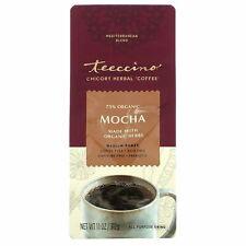 Teeccino, Chicory Herbal Coffee, Mocha, Medium Roast, Caffeine Free,  312 g NEW
