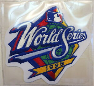 1998 WORLD SERIES ~ NEW YORK YANKEES / SAN DIEGO PADRES Willabee Ward PATCH ONLY