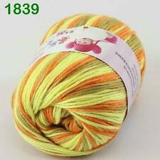 Sale New 1 ball x50gr Cashmere Silk Velvet Baby Children Hand Knitting Yarn 39
