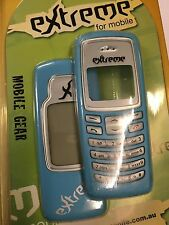 Nokia 2100 Front & Rear Housings/Covers Blue incl. Screen Display Glass & Keypad