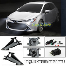 Fit For 2019-21 Toyota Corolla Hatchback Front fog light assembly w/Bulb Switch