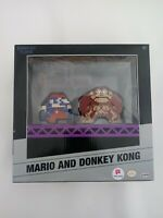 Jakks World of Nintendo MARIO & DONKEY KONG 8-Bit Retro Video Game Diorama