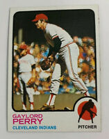 1973 Gaylord Perry # 400 Cleveland Indians Topps Baseball Card HOF