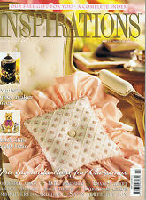 INSPIRATIONS MAGAZINE 24  Projects Apron & Mitt  Doll Ensemble  Xmas Cards  Fram