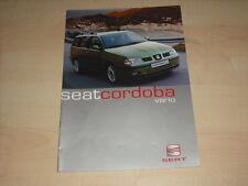 50405) Seat Cordoba Vario Prospekt 05/1999