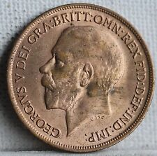 George V Bronze Penny, 1918. Uncirculated. Full Lustre.