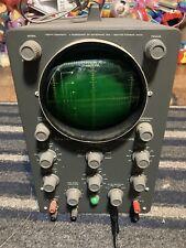 Vintage Heathkit Laboratory Oscilloscope Model 0 12 For Parts