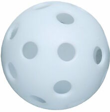 White 12-inch Perforated Poly Ball (pack of 100)