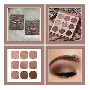 COLOURPOP THAT'S TAUPE EYESHADOW PALETTE ~ NEW IN BOX  9 Pan Shadow Palette