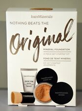 NEW bareMinerals GET STARTED MINERAL FOUNDATION KIT SET Medium Beige 12