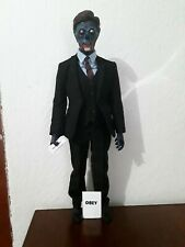 "1/6 ""They Live"" Custom Alien In Suit With Watch Action Figure Rare"